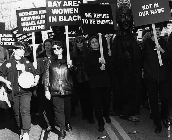 Women in Black march