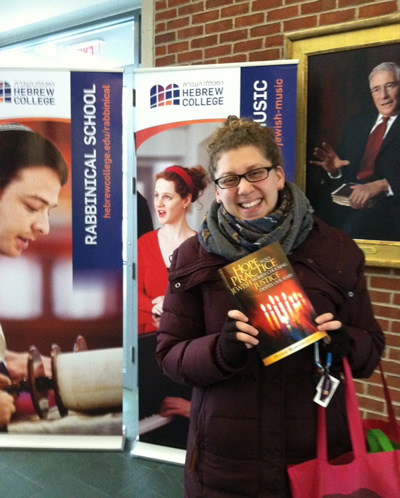 Alana loving HOPE into PRACTICE at Hebew College