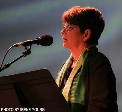 Penny Rosenwasser at Song for All Beings, Feb 2017