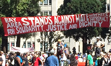 Bay Area Stands Against Hate Summer 2017